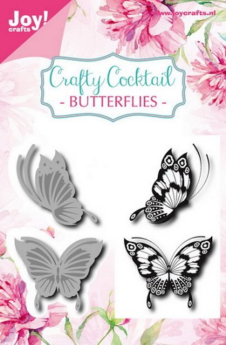 Joy Crafty Cocktail - butterflies