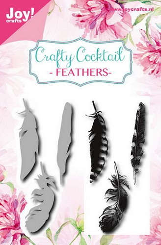 Joy Crafty Cocktail - feathers