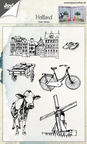Joy Clearstamps - Holland
