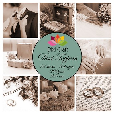 Dixi Toppers - wedding sepia