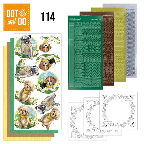 Dot & Do Hobbydots Pakket 114 - Dogs