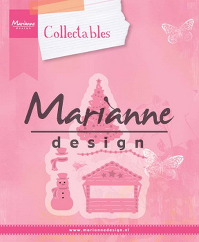 Collectables Marianne Design - Village Decoratie Set 5