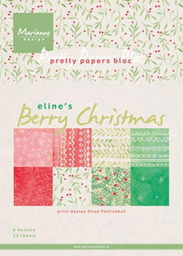 Pretty Papers Bloc - Berry Christmas