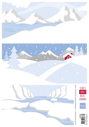Knipvel Eline Pellinkhof - Eline`s Snowy Backgrounds