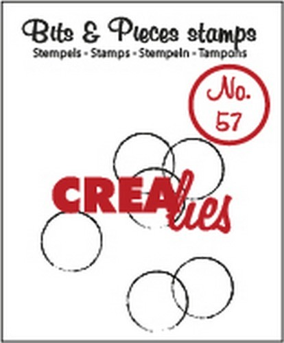 Clearstamp Crealies - Bits & Pieces 57