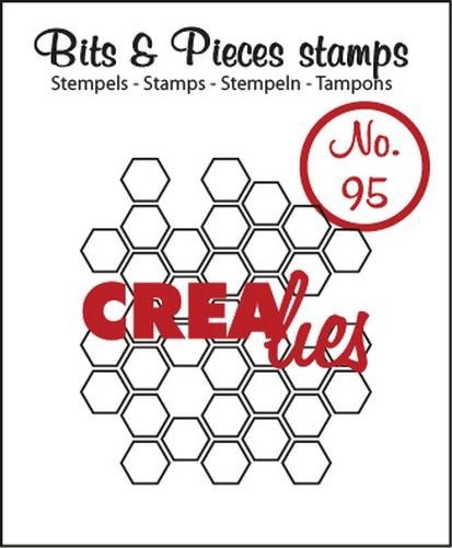 Clearstamp Crealies - Bits & Pieces 95