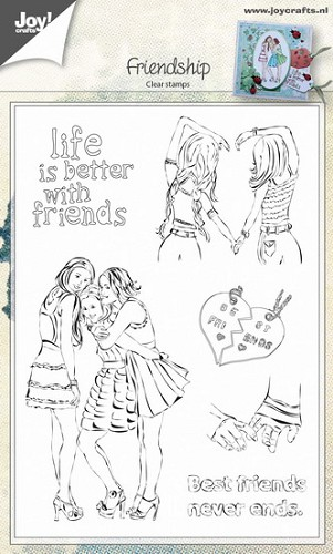 Joy Clearstamps - Friendship