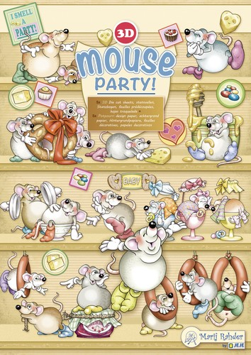 Marij Rahder Set - Mouse Party
