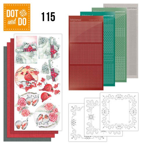 Dot & Do Hobbydots Pakket - winter classics