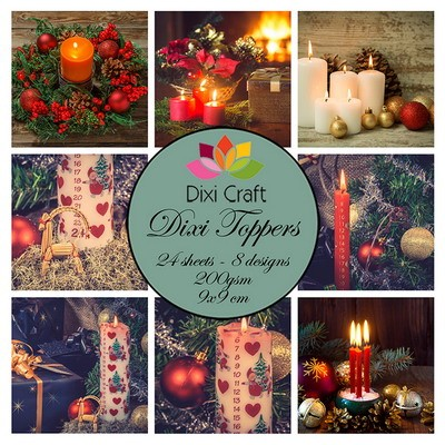 Dixi Craft Toppers - christmas candles