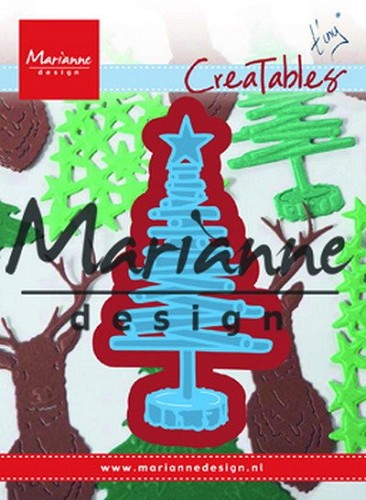 Creatables Marianne Design - Tiny`s kerstboom hout
