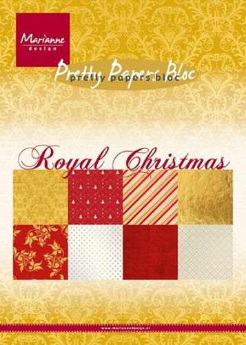 Pretty Papers Bloc - Royal Christmas