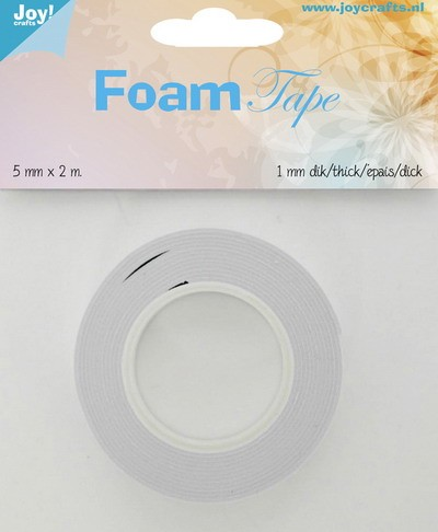 Joy Foam Tape - 5 mm breed - 1 mm dik
