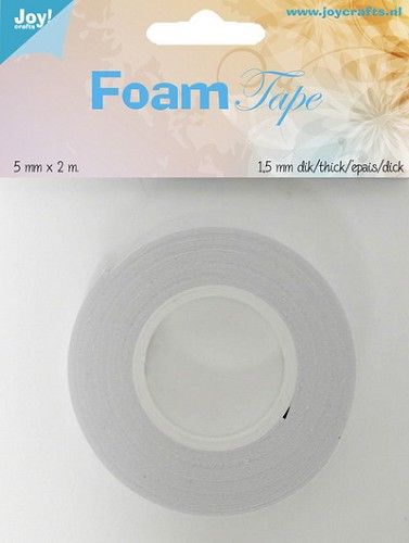 Joy Foam Tape - 5 mm breed - 1.5 mm dik