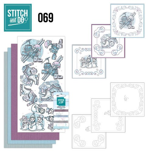 Stitch and Do Pakket - winter