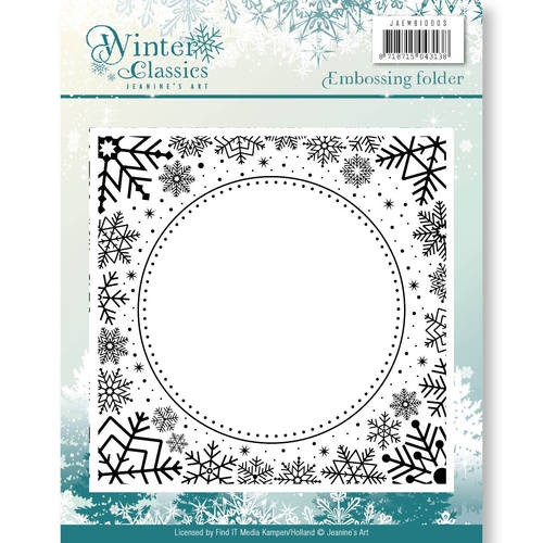 Embossing Folder Jeanine`s Art - Winter Classics