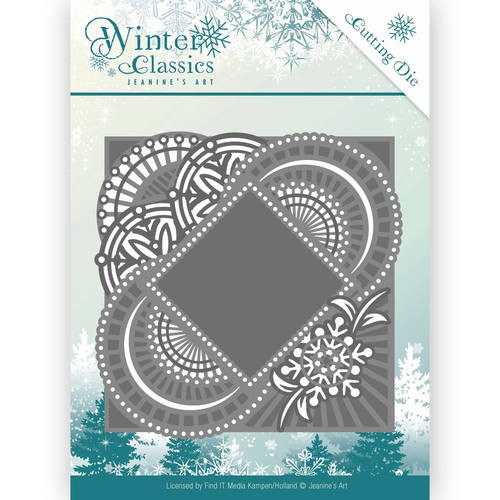 Jeanine`s Art Stans - Winter Classics - mirror frame