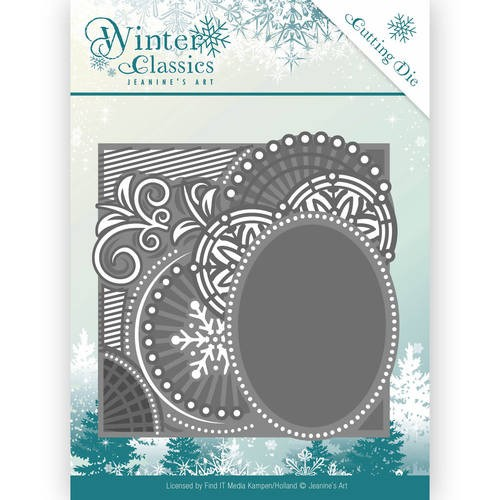 Jeanine`s Art Stans - Winter Classics - curly frame