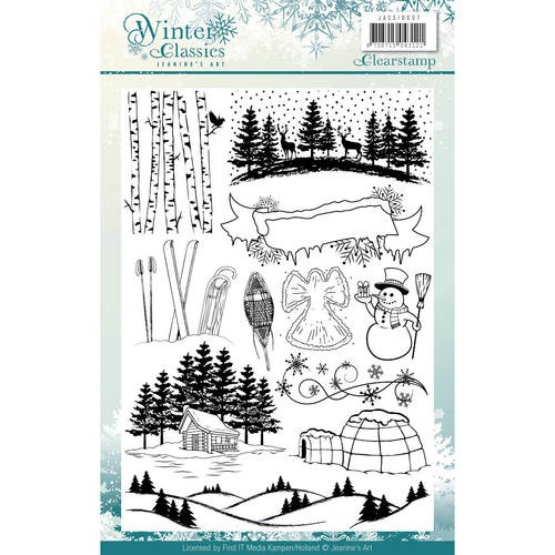 Clearstamps Jeanine`s Art - Winter Classics