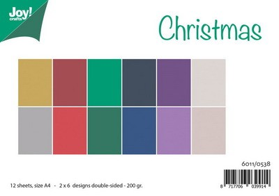 Joy Paper Pack - Uni Colours - Christmas