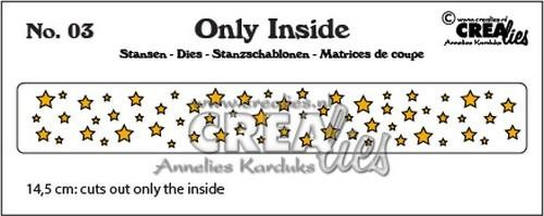Crealies Stans - Only Inside 03 (sterretjes)