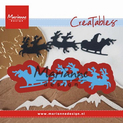 Creatables Marianne Design - Santa is coming