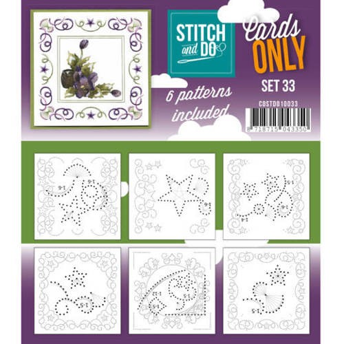 Stitch and Do Cards Only - set 33
