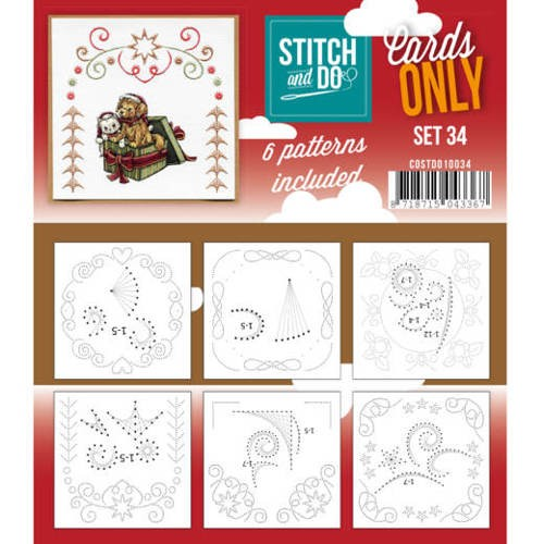 Stitch and Do Cards Only - set 34