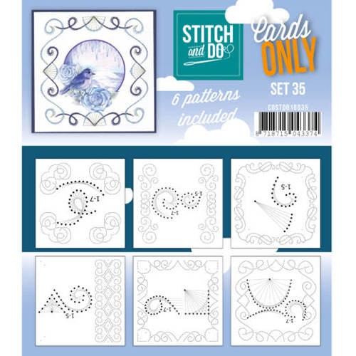 Stitch and Do Cards Only - set 35