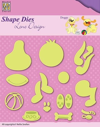 Nellie Snelle Shape Dies - doggy