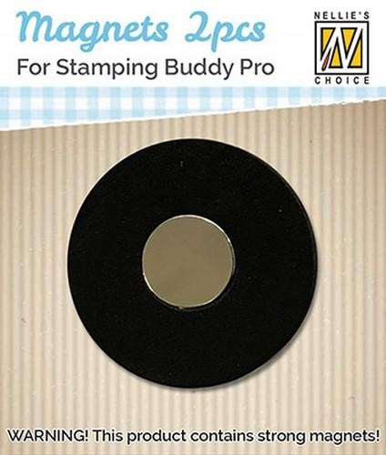 Magnets for Stamping Buddy Pro van Nellie Snellen