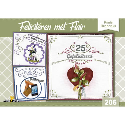 Hobbydols 206 - Feliciteren met Flair