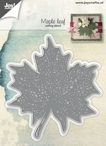 Joy Stencil - Maple Leaf
