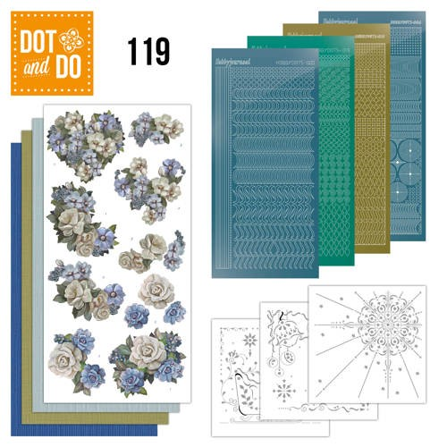 Dot & Do Hobbydots Pakket - vintage winter