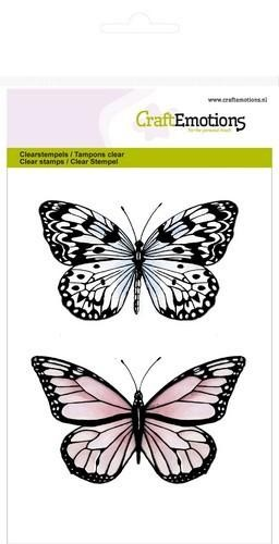 Clearstamps Craft Emotions - butterflies 2