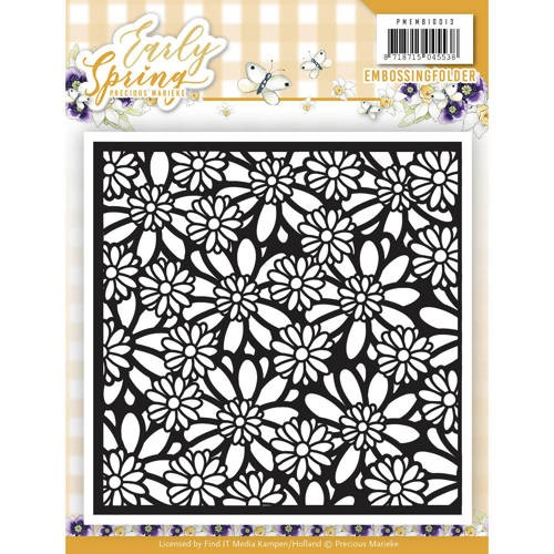 Embossing Folder Precious Marieke - Early Spring