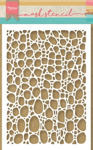 Marianne Design Mask Stencil - Tiny`s Cobble Stone