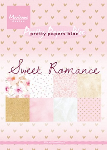 Pretty Papers Bloc - Sweet Romance