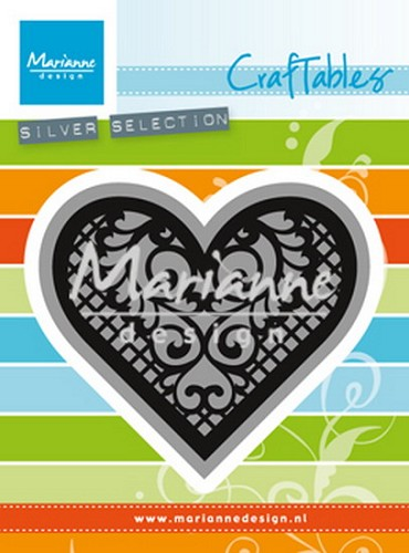 Craftables Marianne Design - Lace Heart
