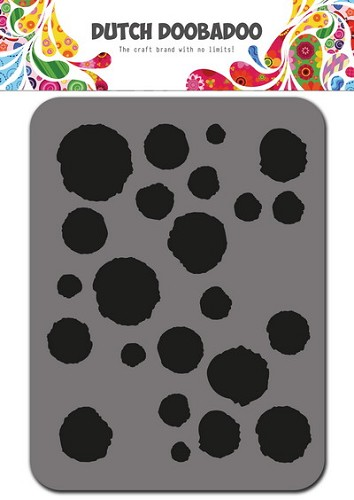 Dutch Doobadoo Foam Stamp - dots