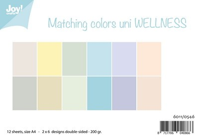 Joy Paper Pack - Matching Colors Uni Wellness