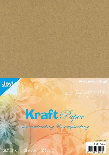 Joy Kraft Paper - A4 - 220 grams
