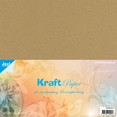 Joy Kraft Paper - 30.5 x 30.5 cm - 220 grams