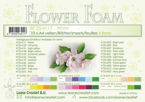 Flower Foam - white