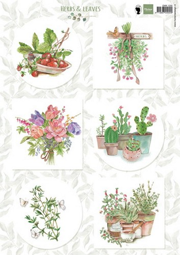 Knipvel Marianne Design - Herbs & Leaves 2