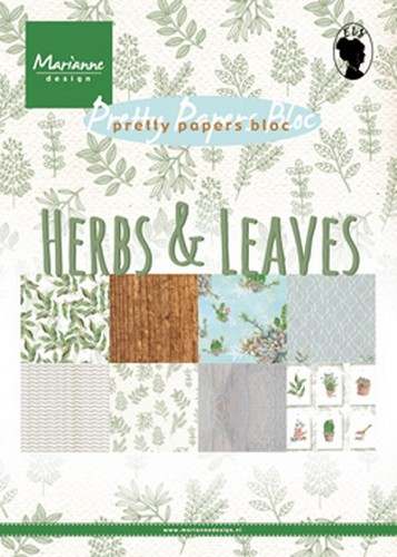 Pretty Papers Bloc - Herbs & Leaves