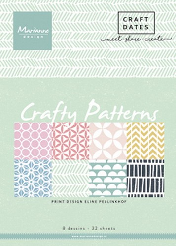 Pretty Papers Bloc - Crafty Patterns