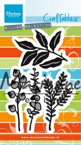 Craftables Marianne Design - herbs & leaves