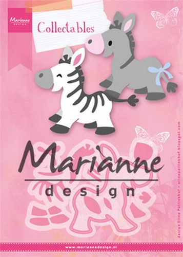 Collectables Marianne Design - Eline`s Zebra & Ezel