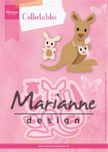 Collectables Marianne Design - Eline`s Kangaroe & Baby